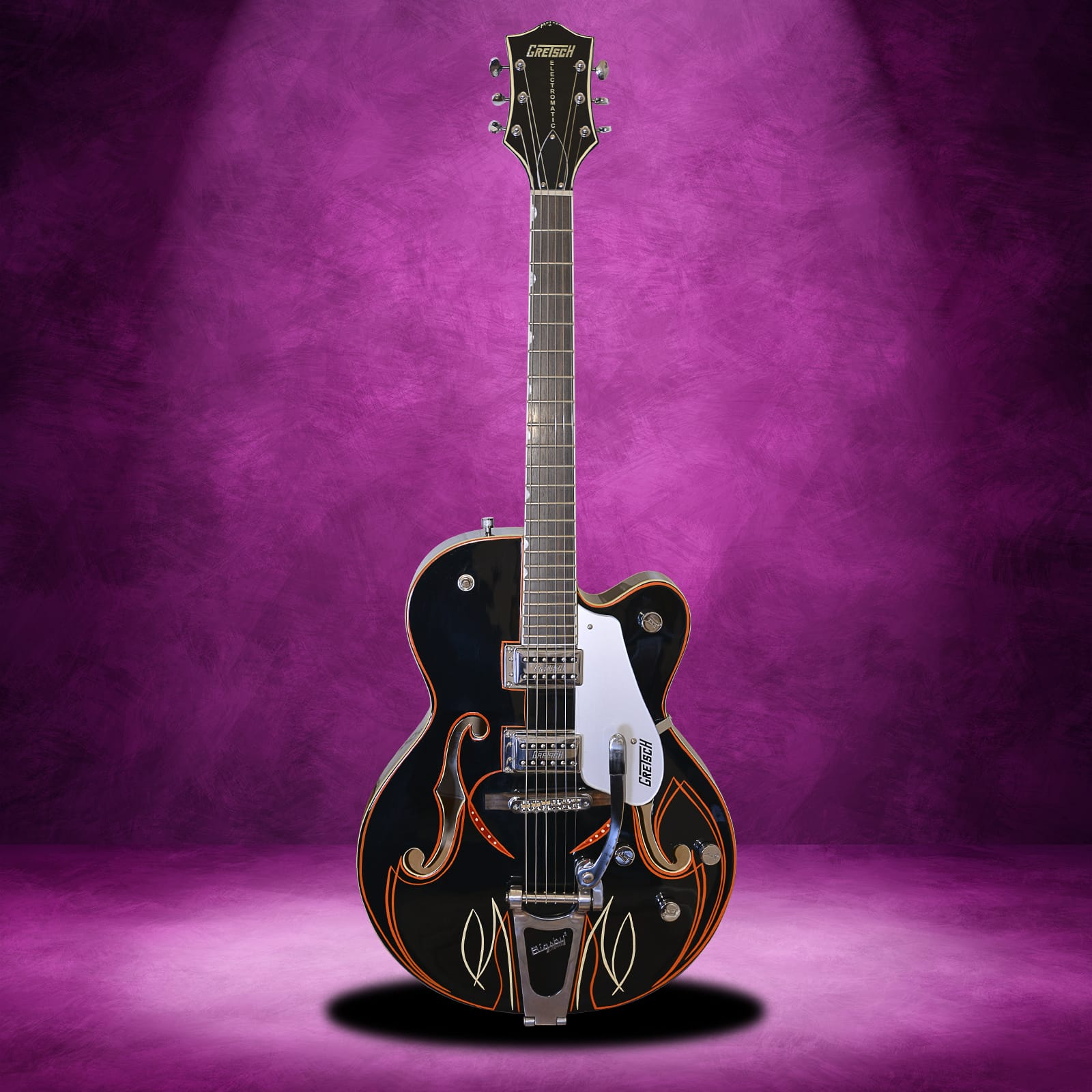 2012 gretsch g5120 electromatic hollowbody pinstripe guitarnear mint the guitar squirrel. Black Bedroom Furniture Sets. Home Design Ideas
